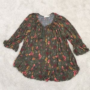🆕Flounce Peasant Style Top